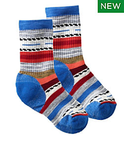 Kids' Smartwool Margarita Hike Medium Crew Socks